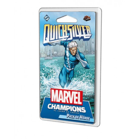 Marvel Champions: Quicksilver (Castellano)