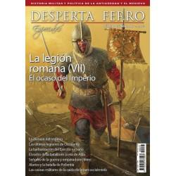 Especial Nº25: La legión romana (VII). El ocaso del Imperio. (Spanish)