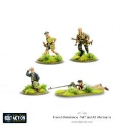 French Resistance PIAT & Anti-tank rifle