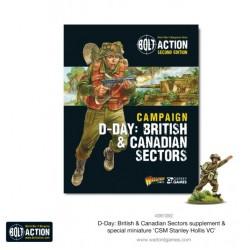 D-Day: Briths & Canadian Sectors (Inglés)
