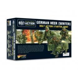 German Heer Winter Starter Army + Lady Death
