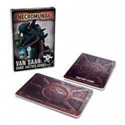 Necromunda: Van Saar Gang Tactics Cards (English)