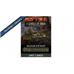Bagration: German Unit Cards