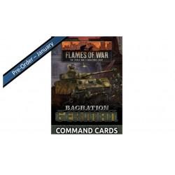 Bagration: German Command Cards