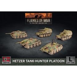Hetzer Tank-hunter Platoon (Plastic)