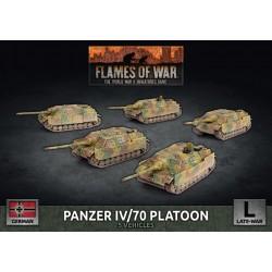 Panzer IV/70 Platoon (Plastic)