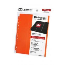 18-Pocket Side-Loading Pages (10) - Orange