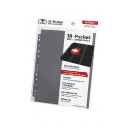 18-Pocket Side-Loading Pages (10) - Grey