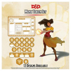 D&D - Monk Token Set