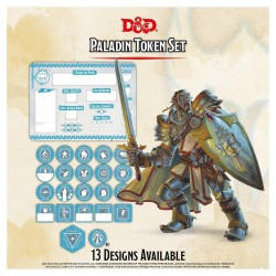 D&D - Paladin Token Set