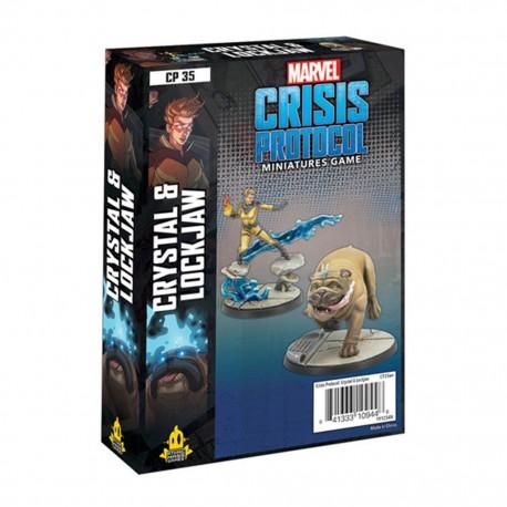 Crisis Protocol Crystal & Lockjaw (Inglés)