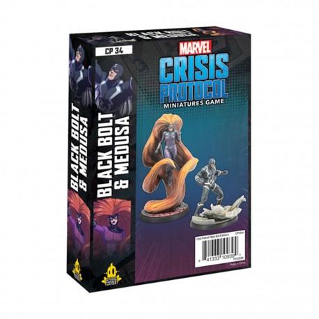 Crisis Protocol Black Bolt & Medusa (Inglés)