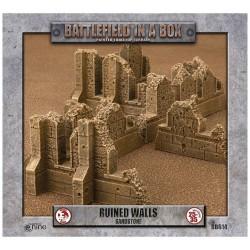 Gothic Battlefields - Walls - Sandstone (1) - 30mm