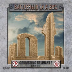 Gothic Battlefields - Crumbling Remnants - Sandstone (1) - 30mm