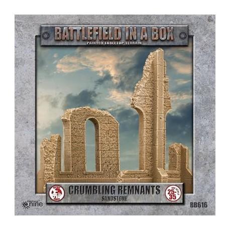Gothic Battlefields - Crumbling Remnants - Sandstone (1) - 30mm