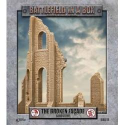 Gothic Battlefields - Broken Façade - Sandstone (2) - 30mm