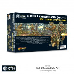 British & Canadian Starter Army