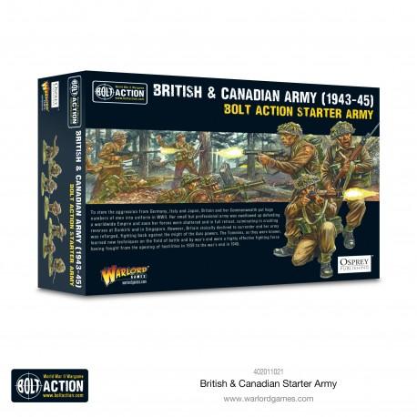 British & Canadian Starter Army