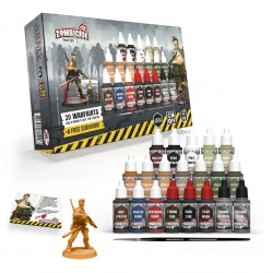 Zombicide: 2nd ed. Paint Set