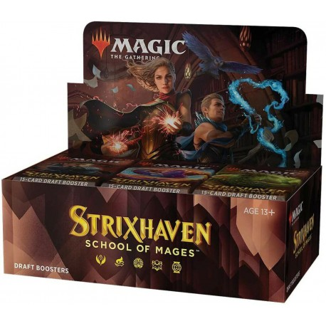 Strixhaven: School of Mages Box 36 Draft Booster Pack (English)
