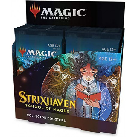 Strixhaven: School of Mages Collector Booster Box (12 Packs) (English)