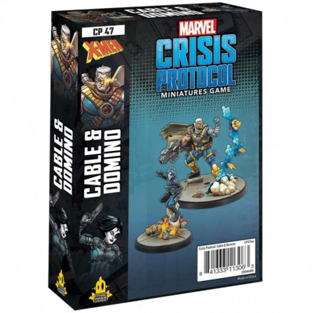 Marvel Crisis Protocol: Cable & Domino (Inglés)