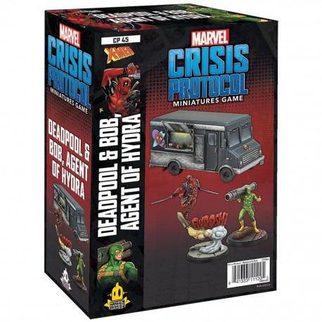 Marvel Crisis Protocol: Deadpool & Bob, Agent of Hydra (Inglés)