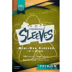 Sleeves Mini American Premium - 41mmx63mm (100)