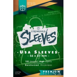 Sleeves American Premium - 56mmx87mm (100)