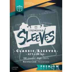 Sleeves Classic Premium - 63,5mmx88mm (100)