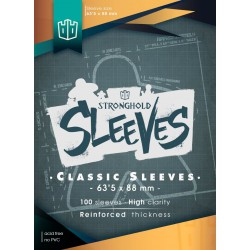 Sleeves Classic Standar – 63,5mmx88mm (100)