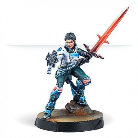 Shona Carano, Aristeia! Swordmaster (Submachine gun)