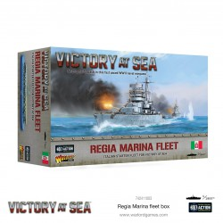 Victory At Sea Regia Marina Fleet Box