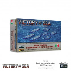 Victory at Sea - Regia Marina Submarines & MTB Sections
