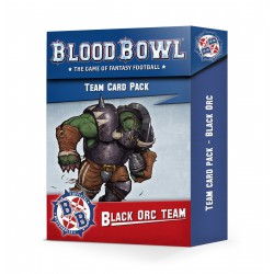 Blood Bowl: Black Orc Team Card Pack (English)