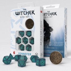 The Witcher Dice Set. Yennefer - Sorceress Supreme