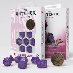 The Witcher Dice Set. Dandelion - Viscount de Lettenhove