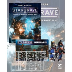 Stargrave Rulebook and Set of Mercenaries + SG (English)