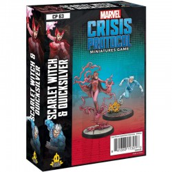 Crisis Protocol Scarlet Witch & Quicksilver (Inglés)