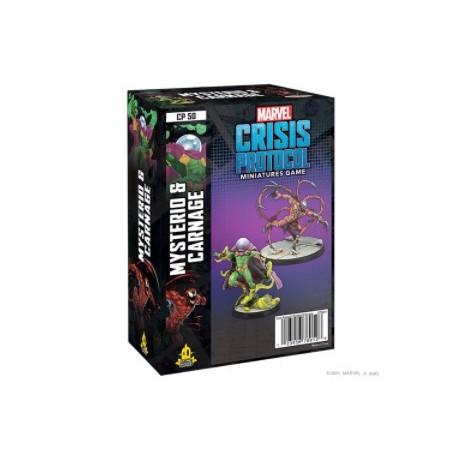 Marvel Crisis Protocol: Mysterio and Carnage (English)
