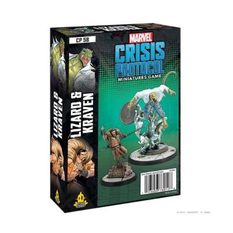 Marvel Crisis Protocol: Lizard and Kraven (English)