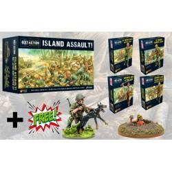 Pack Island Assult + 2 Minis Promo