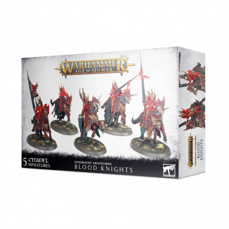 Soulblight Gravelords: Blood Knights (5)