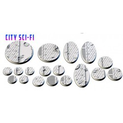 City Sci-Fi Bases (21 Tops)