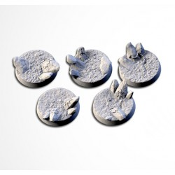 Chaos Hell Bases 25mm (20 Tops)