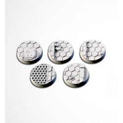 City Sci-Fi Bases 25mm (20 Tops)