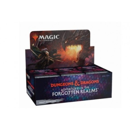 Adventures in the Forgotten Realms Box 36 Booster Packs (English)