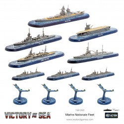 Victory at Sea - French Navy Starter Fleet