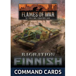 LW Finnish Command Card Pack (23x Cards)