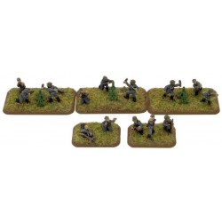 81mm and 120mm Mortar Platoons (x6)